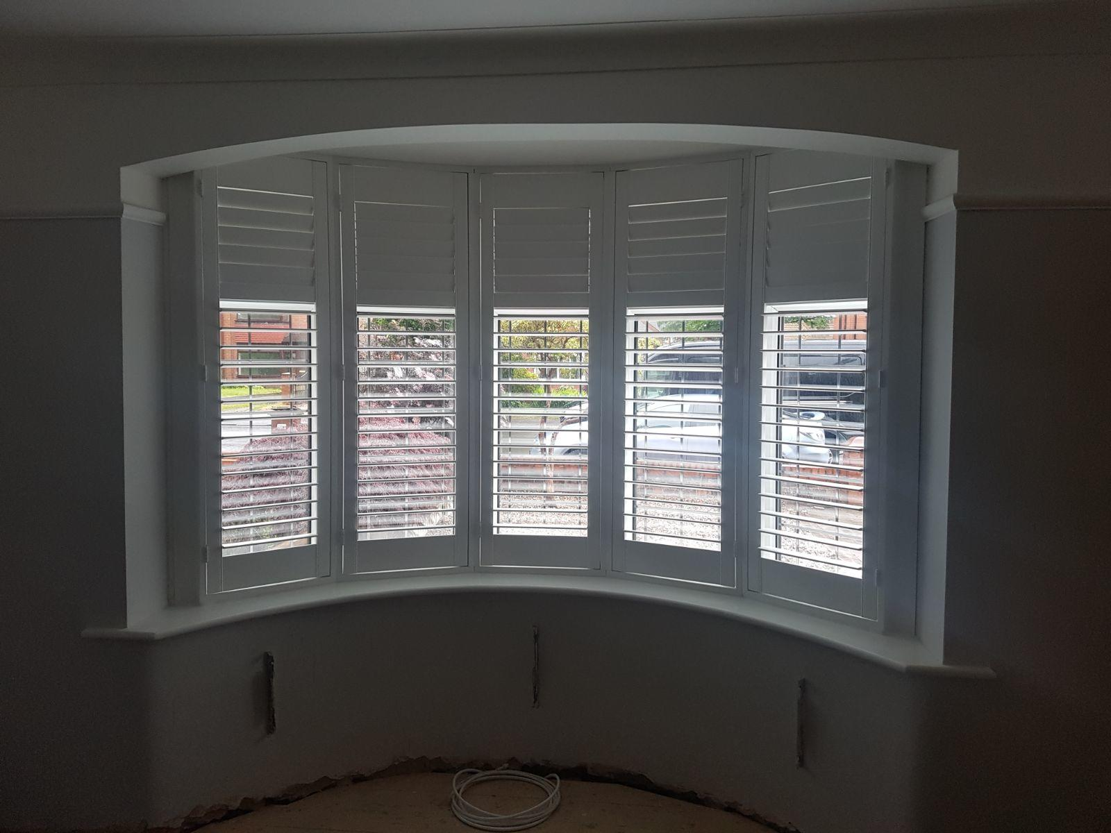 5 Panel Curved Bay Window Installation Absolute